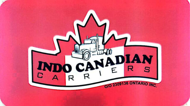 2309136 ONTARIO INC. O/A INDO CANADIAN CARRIERS